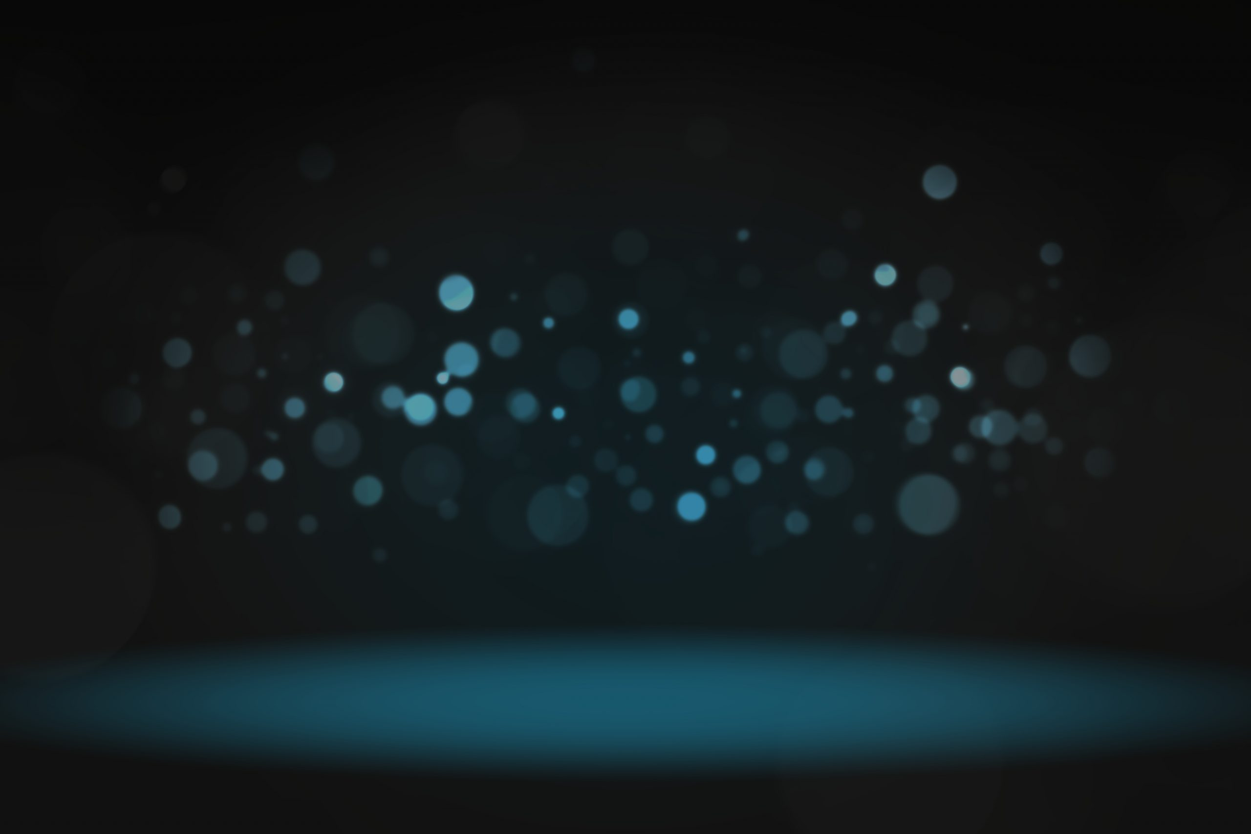 Bokeh lights product background